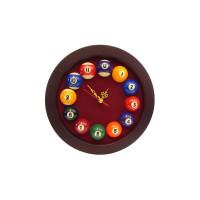 Часы ROTUNDO, 25x25 см, бургунди