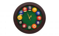Часы ROTUNDO, 25x25 см,  зеленый