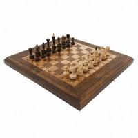 Шахматы + Нарды резные 50 Haleyan