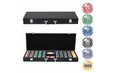 Набор для покера Wood на 500 фишек