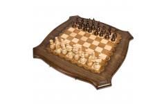 Шахматы + Нарды резные Роял 60 Ohanyan