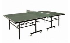 Теннисный стол LIJU, 12 мм, колеса 50 мм, зеленый DW9012