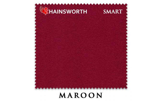 Сукно Hainsworth Smart Snooker 195см Maroon