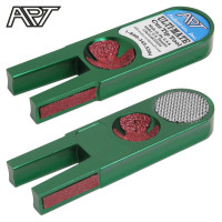 Инструмент для обработки наклейки Ulti-Mate Cue Tip Tool зелёный