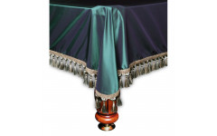 Покрывало Венеция 7фт шёлк зеленое