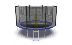 Батут EVO JUMP External 12ft (Blue)