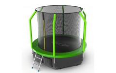 Батут EVO JUMP Cosmo 8ft (Green) + Lower net