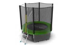 Батут EVO JUMP External 6ft (Green) + Lower net