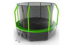 Батут EVO JUMP Cosmo 12ft (Green) + Lower net