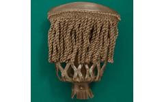 Комплект луз пул (57 мм, светло-коричневый, кожа, бахрома)
