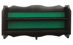 Полка для шаров навесная (махагон, 60 х 34 х 8.5 см)