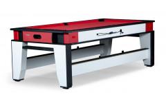 Игровой стол - трансформер (пул + аэрохоккей)